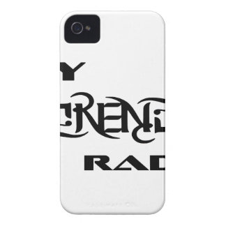 My Serenity Radio Products Support Vets iPhone 4 Case