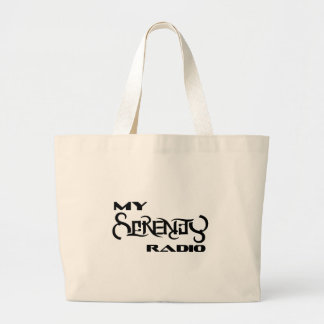 My Serenity Radio Products Support Vets Large Tote Bag
