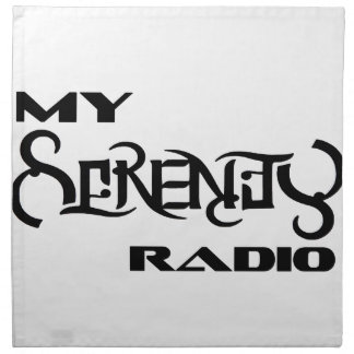 My Serenity Radio Products Support Vets Napkin