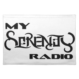 My Serenity Radio Products Support Vets Placemat