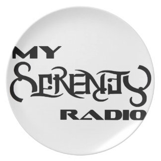 My Serenity Radio Products Support Vets Plate