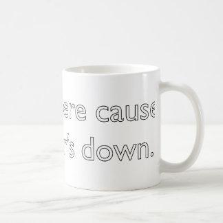 My server's down! coffee mugs