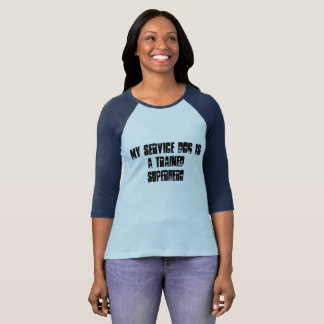 My Service Dog Is a Hero Long sleeved shirt