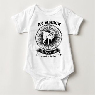 My shadow baby bodysuit