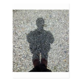 My Shadow Postcard