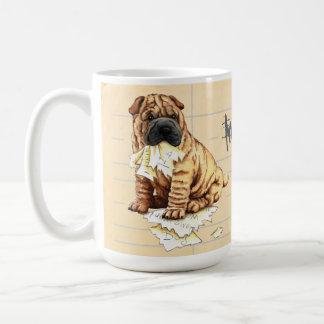My Shar-Pei Ate My Homework Coffee Mug