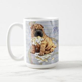My Shar-Pei Ate My Lesson Plan Coffee Mug