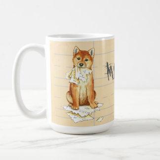 My Shiba Inu Ate My Homework Coffee Mug