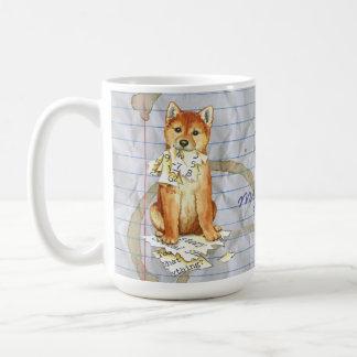 My Shiba Inu Ate My Lesson Plan Coffee Mug