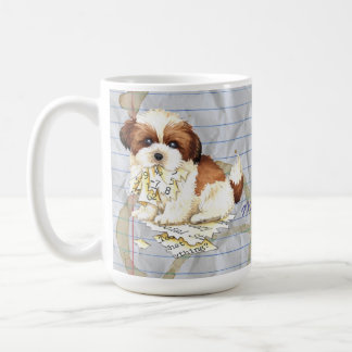 My Shih Tzu Ate My Lesson Plan Coffee Mug