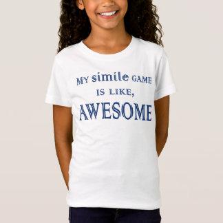 My Simile Game T-Shirt