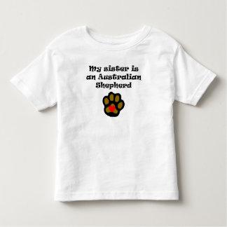 My Sister Is An Australian Shepherd Toddler T-Shirt