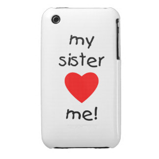 My Sister Loves Me iPhone 3 Cover