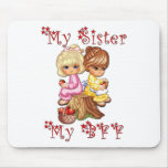 My Sister My BFF Mousemat
