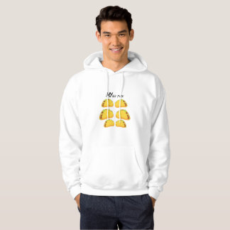My Six Pack Funny Taco Fitness  Workout Gym Hoodie
