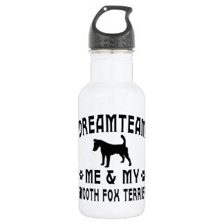 My Smooth Fox Terrier Dog 532 Ml Water Bottle