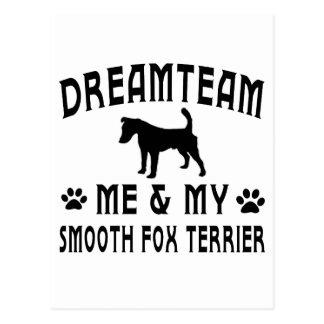My Smooth Fox Terrier Dog Postcard