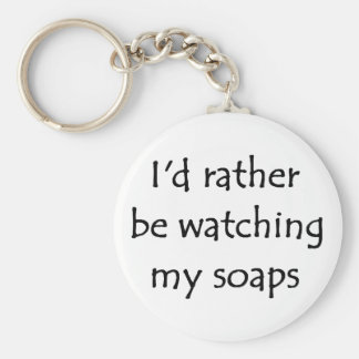 My soaps key ring