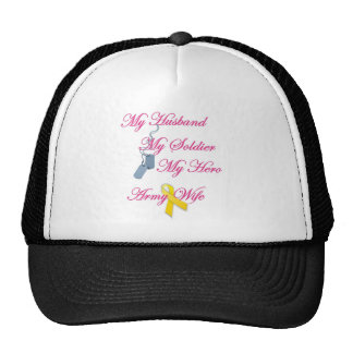 My Soldier Army Wife Cap