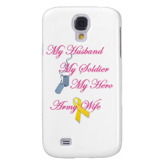 My Soldier Army Wife Samsung Galaxy S4 Cases