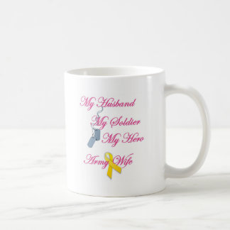 My Soldier Army Wife Mugs