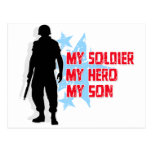 My Soldier, My Hero, My Son Post Card
