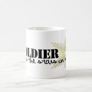 My Soldier puts the stars in my sky! Mug