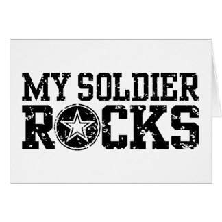 My Soldier Rocks Card