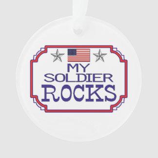 My Soldier Rocks Ornament