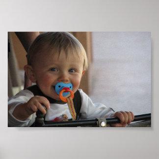 My son Caeden Poster