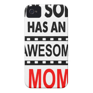 My Son Has An Awesome Mom iPhone 4 Case-Mate Case