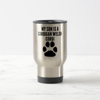 My Son Is A Cardigan Welsh Corgi Coffee Mugs