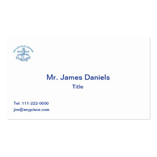 My Son Is A Coastie Business Card Templates