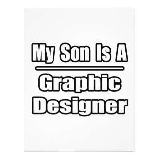 My Son Is A Graphic Designer Custom Flyer