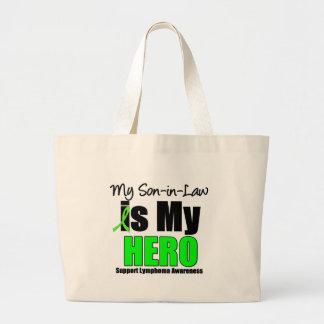 My Son is My Hero Jumbo Tote Bag