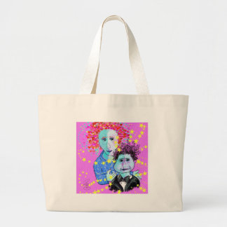 My son, the prodigy large tote bag