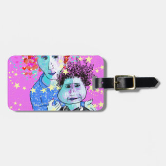 My son, the prodigy luggage tag