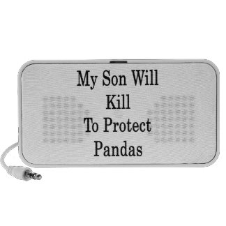 My Son Will Kill To Protect Pandas Travelling Speakers
