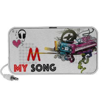 MY SONG AUDIO PORTABLE SPEAKER