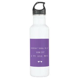 My Soul Mate 710 Ml Water Bottle