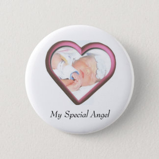My Special Angel 6 Cm Round Badge