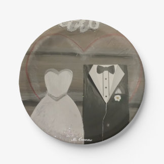 My Special Wedding Day Paper Plates