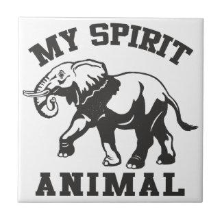 My Spirit animal Ceramic Photo Tile