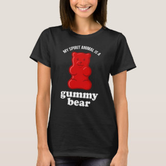 My Spirit Animal Is A Gummy Bear Funny T-Shirt