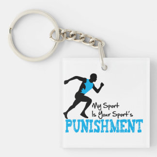 My Sport Is Your Sports Punishment Keychain