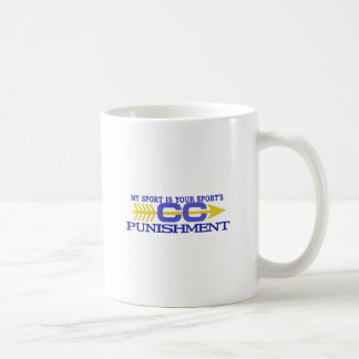My Sport/Punishment Coffee Mug