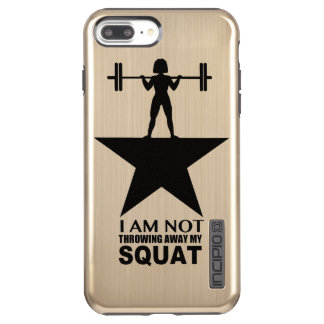 My Squat Curly Hair Gold Phone Case