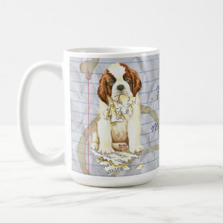 My St. Bernard Ate my Lesson Plan Coffee Mug