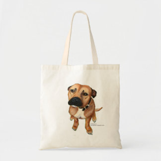 My staffy tote bag