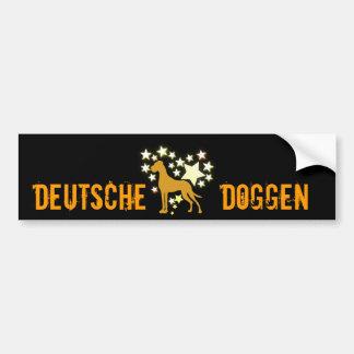My Star Great Danes Bumper Sticker